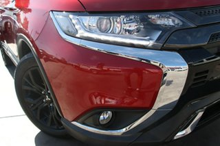 2018 Mitsubishi Outlander ZL MY19 Black Edition 7 Seat (2WD) Red Continuous Variable Wagon.