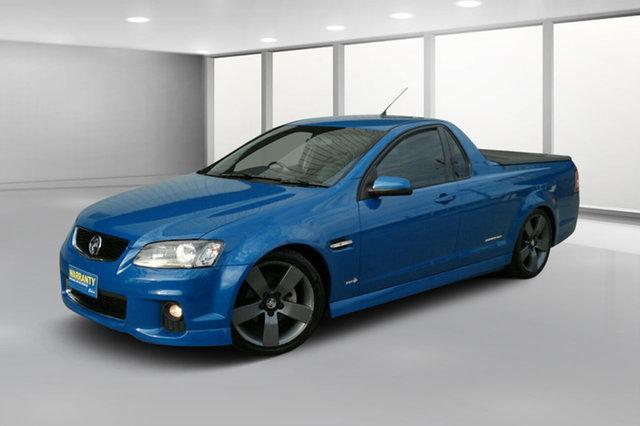Used Holden Ute VE II SV6 Thunder, 2012 Holden Ute VE II SV6 Thunder Blue Mica 6 Speed Manual Utility