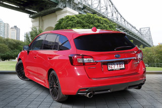 2017 Subaru Levorg V1 MY18 2.0 STI Sport CVT AWD Pure Red 8 Speed Constant Variable Wagon.