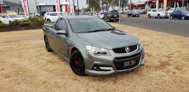 Used Holden Ute VF MY15 SV6, 2015 Holden Ute VF MY15 SV6 Grey 6 Speed Semi Auto Utility