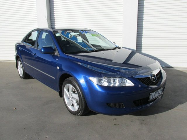 Used Mazda 6 GG1031 MY04 Classic, 2004 Mazda 6 GG1031 MY04 Classic Pacific 4 Speed Sports Automatic Hatchback