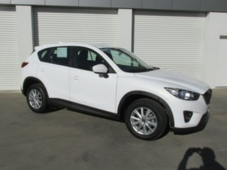 2013 Mazda CX-5 KE1031 MY13 Maxx SKYACTIV-Drive AWD White 6 Speed Sports Automatic Wagon.