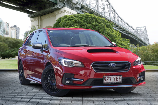 Demo Subaru Levorg V1 MY18 2.0 STI Sport CVT AWD, 2017 Subaru Levorg V1 MY18 2.0 STI Sport CVT AWD Pure Red 8 Speed Constant Variable Wagon