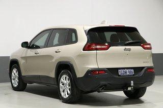 2016 Jeep Cherokee KL MY16 Sport (4x2) Gold 9 Speed Automatic Wagon