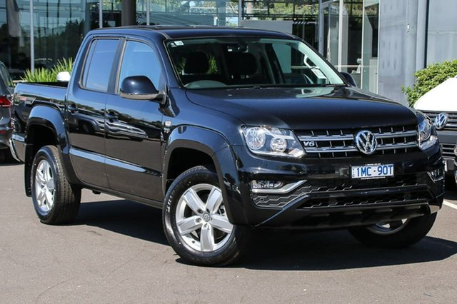 Demo Volkswagen Amarok 2H MY18 TDI550 4MOTION Perm Sportline, 2018 Volkswagen Amarok 2H MY18 TDI550 4MOTION Perm Sportline Black 8 Speed Automatic Utility