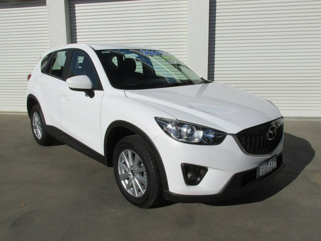 Used Mazda CX-5 KE1031 MY13 Maxx SKYACTIV-Drive AWD, 2013 Mazda CX-5 KE1031 MY13 Maxx SKYACTIV-Drive AWD White 6 Speed Sports Automatic Wagon