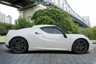 2015 Alfa Romeo 4C Launch Edition TCT White 6 Speed Sports Automatic Dual Clutch Coupe.