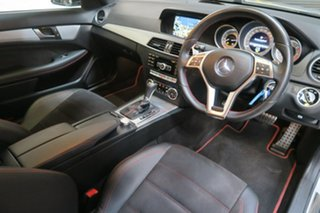 2013 Mercedes-Benz C250 CDI C204 MY13 7G-Tronic Silver 7 Speed Sports Automatic Coupe.