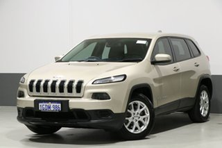 2016 Jeep Cherokee KL MY16 Sport (4x2) Gold 9 Speed Automatic Wagon.