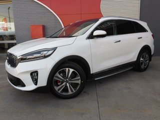 2018 Kia Sorento UM MY19 GT-Line AWD White 8 Speed Sports Automatic Wagon.