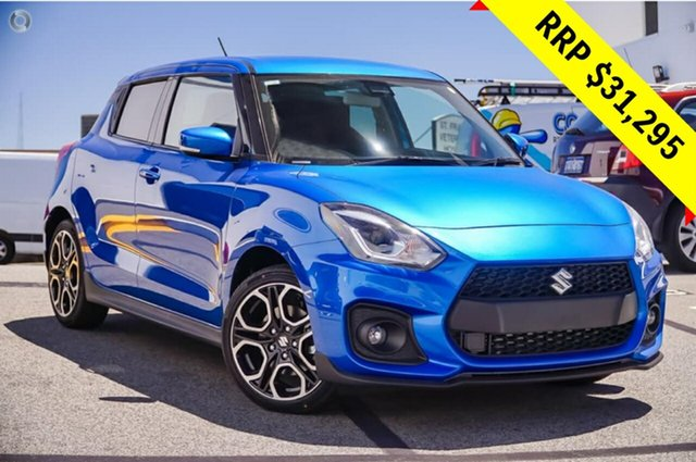 New Suzuki Swift AZ Sport, 2018 Suzuki Swift AZ Sport Speedy Blue 6 Speed Manual Hatchback