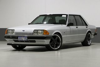 1982 Ford Fairmont XE Ghia Silver 3 Speed Automatic Sedan.