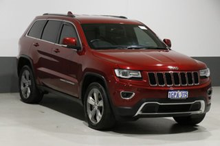 2015 Jeep Grand Cherokee WK MY15 Laredo (4x2) Red 8 Speed Automatic Wagon