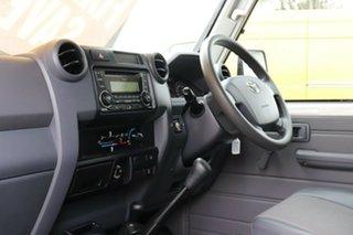 2018 Toyota Landcruiser VDJ76R Workmate French Vanilla 5 Speed Manual Wagon