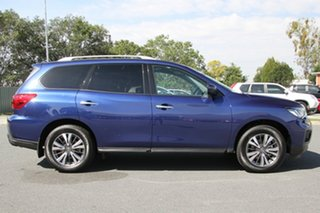 2018 Nissan Pathfinder R52 Series II MY17 ST X-tronic 4WD Caspian Blue 1 Speed Constant Variable.