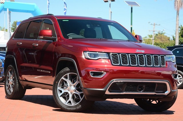 New Jeep Grand Cherokee WK MY19 Limited, 2019 Jeep Grand Cherokee WK MY19 Limited Velvet Red 8 Speed Sports Automatic Wagon