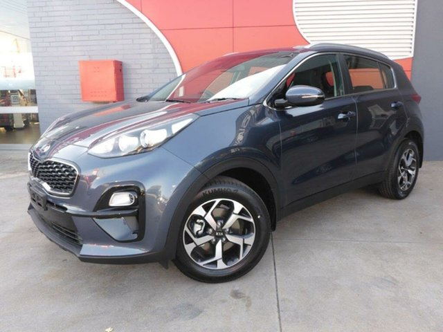 New Kia Sportage QL MY19 Si 2WD, 2019 Kia Sportage QL MY19 Si 2WD Mercury Blue 6 Speed Sports Automatic Wagon