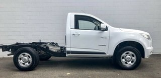 2013 Holden Colorado RG MY13 LX 4x2 White 5 Speed Manual Cab Chassis