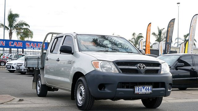 Used Toyota Hilux TGN16R MY05 Workmate 4x2, 2005 Toyota Hilux TGN16R MY05 Workmate 4x2 Silver 5 Speed Manual Utility