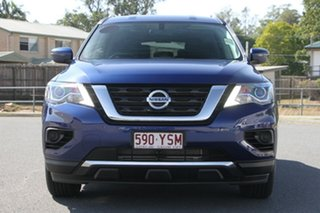 2018 Nissan Pathfinder R52 Series II MY17 ST X-tronic 4WD Caspian Blue 1 Speed Constant Variable
