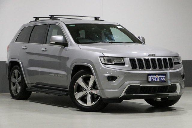 Used Jeep Grand Cherokee WK MY14 Overland (4x4), 2014 Jeep Grand Cherokee WK MY14 Overland (4x4) Grey 8 Speed Automatic Wagon