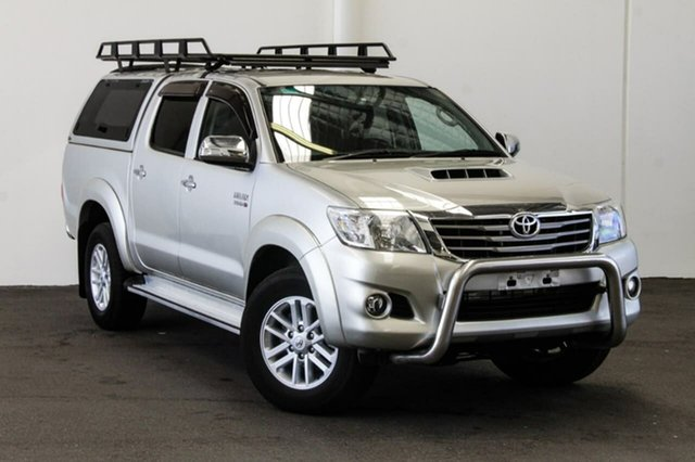Used Toyota Hilux KUN26R MY14 SR5 (4x4), 2014 Toyota Hilux KUN26R MY14 SR5 (4x4) Sterling Silver 5 Speed Automatic Dual Cab Pick-up