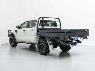 2013 Ford Ranger PX XL 3.2 (4x4) White 6 Speed Automatic Dual Cab Chassis