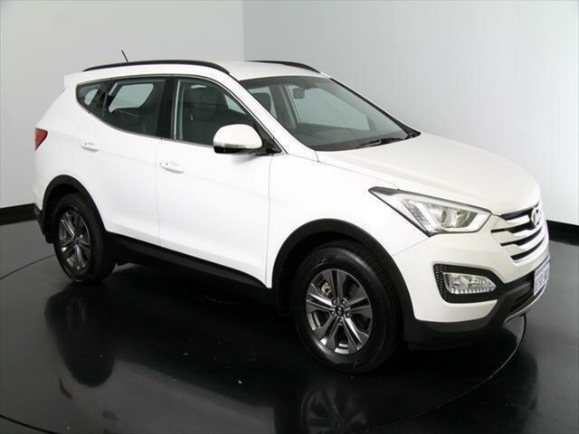 Used Hyundai Santa Fe DM2 MY15 Active, 2015 Hyundai Santa Fe DM2 MY15 Active Cream 6 Speed Sports Automatic Wagon