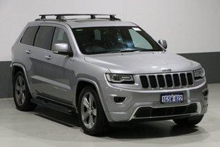 2014 Jeep Grand Cherokee WK MY14 Overland (4x4) Grey 8 Speed Automatic Wagon