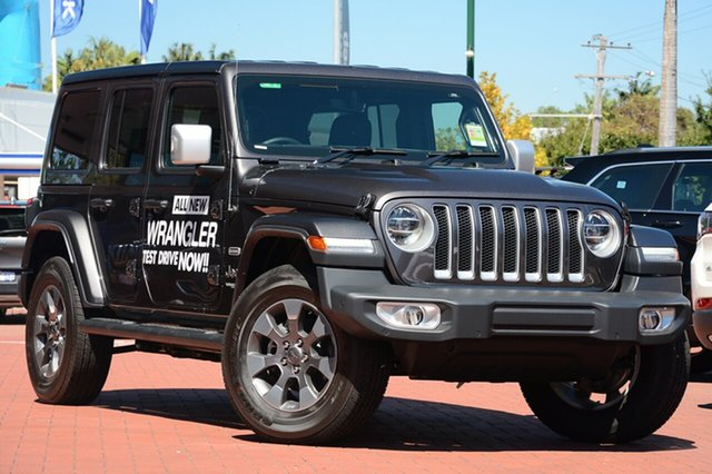 New Jeep Wrangler JL MY19 Unlimited Overland, 2019 Jeep Wrangler JL MY19 Unlimited Overland Granite Crystal 8 Speed Automatic Hardtop