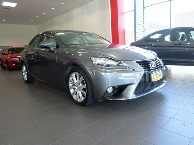 Used Lexus IS350 GSE31R Luxury, 2013 Lexus IS350 GSE31R Luxury Silver 8 Speed Sports Automatic Sedan