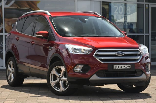 Demo Ford Escape ZG 2018.00MY Trend 2WD, 2018 Ford Escape ZG 2018.00MY Trend 2WD Ruby Red 6 Speed Sports Automatic SUV