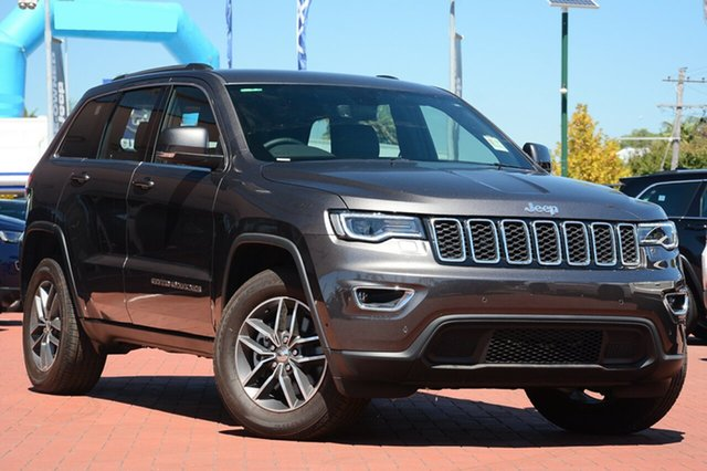 New Jeep Grand Cherokee WK MY18 Laredo, 2018 Jeep Grand Cherokee WK MY18 Laredo Granite Crystal 8 Speed Sports Automatic Wagon