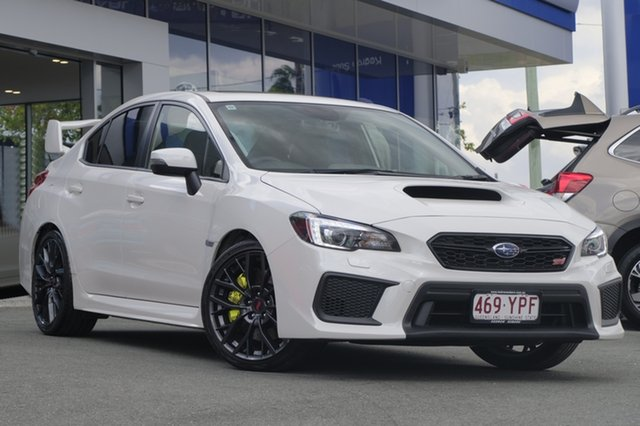 Demo Subaru WRX V1 MY18 STI AWD Premium, 2018 Subaru WRX V1 MY18 STI AWD Premium White Crystal 6 Speed Manual Sedan