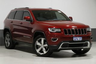 2015 Jeep Grand Cherokee WK MY15 Laredo (4x2) Red 8 Speed Automatic Wagon.