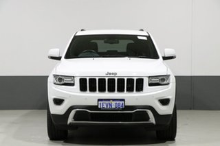 2015 Jeep Grand Cherokee WK MY15 Limited (4x4) White 8 Speed Automatic Wagon.