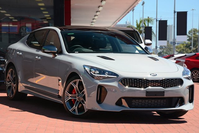New Kia Stinger CK MY19 GT Fastback, 2019 Kia Stinger CK MY19 GT Fastback Ceramic Grey 8 Speed Sports Automatic Sedan