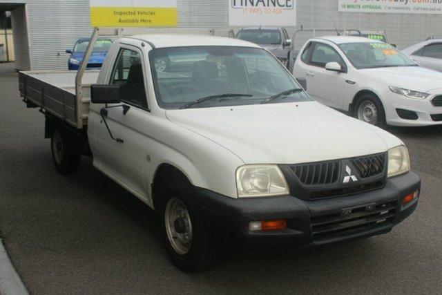 Used Mitsubishi Triton MK MY05 GL 4x2, 2005 Mitsubishi Triton MK MY05 GL 4x2 White 5 Speed Manual Cab Chassis