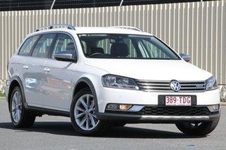 2013 Volkswagen Passat Type 3C MY13.5 Alltrack DSG 4MOTION White 6 Speed.