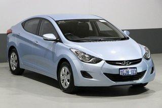 2012 Hyundai Elantra MD Active Blue 6 Speed Automatic Sedan