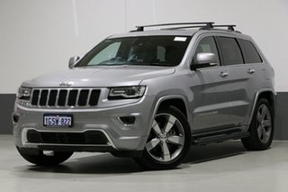 2014 Jeep Grand Cherokee WK MY14 Overland (4x4) Grey 8 Speed Automatic Wagon.