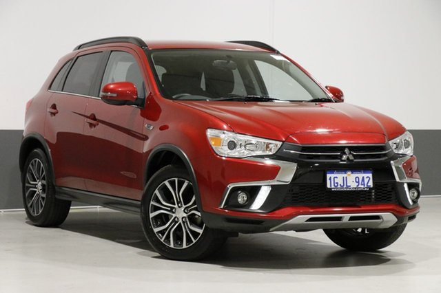 Used Mitsubishi ASX XC MY17 LS (2WD), 2017 Mitsubishi ASX XC MY17 LS (2WD) Red Continuous Variable Wagon