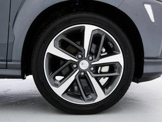 2018 Hyundai Kona OS Highlander (AWD) Dark Knight 7 Speed Auto Dual Clutch Wagon