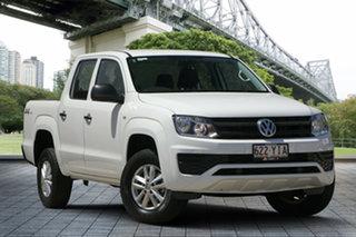 2017 Volkswagen Amarok 2H MY17 TDI400 4MOT Core White 6 Speed Manual Utility.