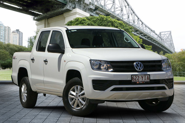 Used Volkswagen Amarok 2H MY17 TDI400 4MOT Core, 2017 Volkswagen Amarok 2H MY17 TDI400 4MOT Core White 6 Speed Manual Utility