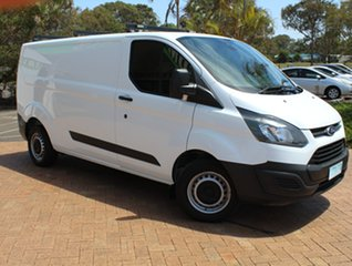 2014 Ford Transit Custom VN 290S Low Roof SWB White 6 Speed Manual Van.