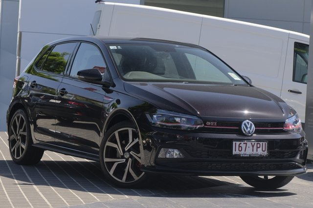 Demo Volkswagen Polo AW MY18 GTI DSG, 2018 Volkswagen Polo AW MY18 GTI DSG Deep Black Pearl Effect 6 Speed Sports Automatic Dual Clutch