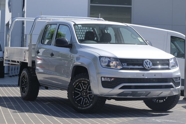 Demo Volkswagen Amarok 2H MY18 TDI420 4MOTION Perm Core, 2018 Volkswagen Amarok 2H MY18 TDI420 4MOTION Perm Core Candy White 8 Speed Automatic Utility