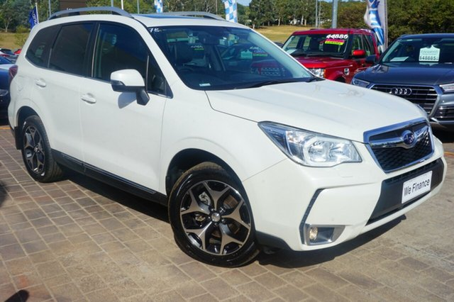 Used Subaru Forester S4 MY15 XT CVT AWD Premium, 2015 Subaru Forester S4 MY15 XT CVT AWD Premium White 8 Speed Constant Variable Wagon