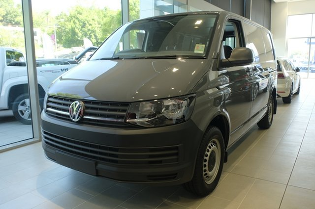 Demo Volkswagen Transporter T6 MY18 TDI340 SWB, 2018 Volkswagen Transporter T6 MY18 TDI340 SWB Pure Grey 6 Speed Manual Van